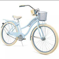 "Brand New Huffy 26"" Nel Lusso Women's Classic Cruiser Bike Light Blue for Sale in Miami,  FL"