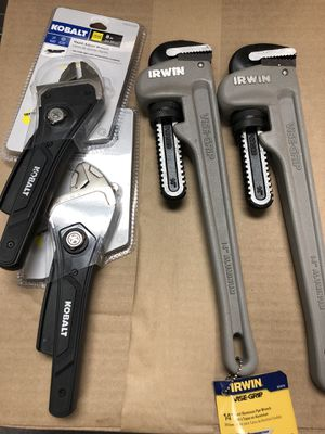 Vice grip and wrench for Sale in Las Vegas, NV