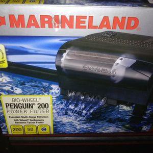 MARINELAND bio-wheel Penguin 200 Power Fish tank Filter for Sale in Brooksville, FL