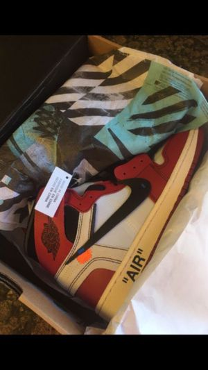 NEW JORDAN 1 RETRO HIGH CHICAGO OFF WHITE for Sale in San Diego, CA