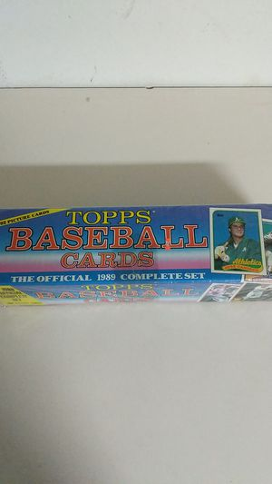 1989 Topps Baseball Cards Complete Set for Sale in Lithia, FL