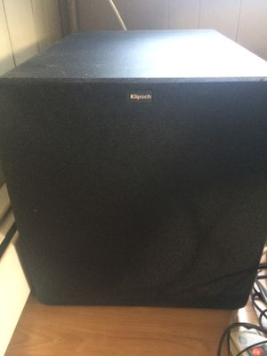 Klipsch bass speaker for Sale in Woodland Park, NJ
