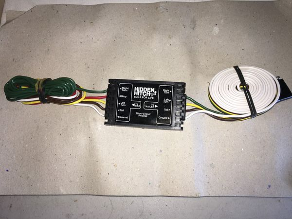 Hidden Hitch Built for Life Short-Circuit Protected