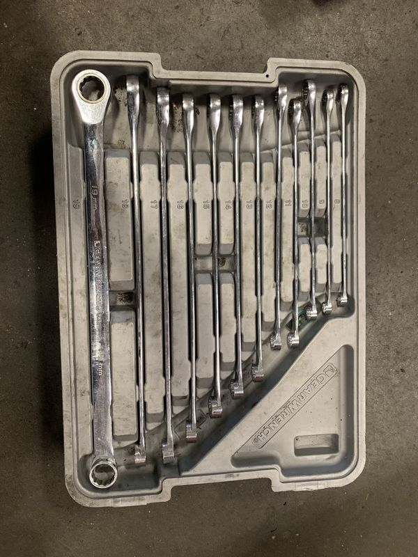 Gear Wrench set 8-19 USED