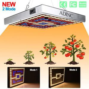 condition: new (2 Packs) LED Grow Light, Plant Grow Lamp 45W 144 LED Bulbs Full Spectrum Red Blue White Hanging Growing Lamps Multiple Panels Conne for Sale in Diamond Bar, CA