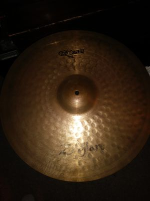 "Zildjian 20"" Medium Ride Cymbal for Sale in Pompano Beach, FL"
