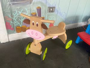 Kids wooden ride on toy for Sale in Bethel Park, PA