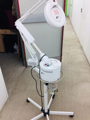 2 in 1 Professional Facial Steamer W/ Ozone & 5 Diopter Magnifying Lamp for Sale in Colorado Springs, CO