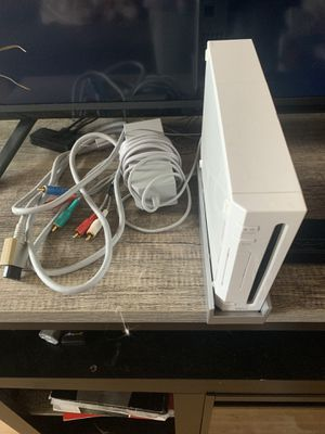 Nintendo Wii System w/ Wii U motion bar included. (System and Motion Bar Only) for Sale in Glen Burnie, MD