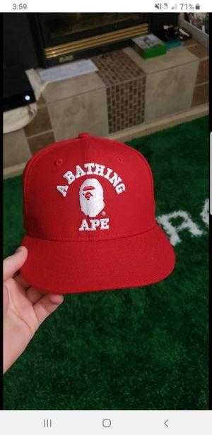 Bape x new era hat for Sale in Lynnwood, WA