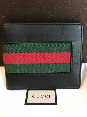 Gucci Bifold Web Wallet for Sale in Boston, MA