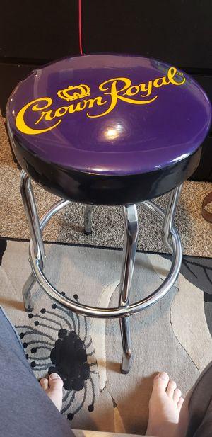 Retro crown royal stool for Sale in Lynnwood, WA