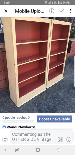 Vintage bookshelves for Sale in Tallahassee, FL