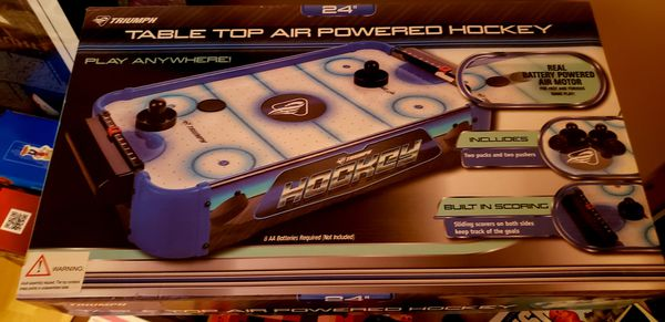 Table top air Powered Hockey