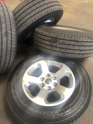 2019 Ram Wheels and Tires. for Sale in Saint Charles, MO