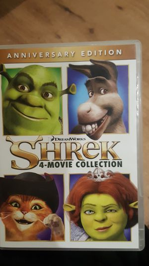 shrek movie collection for Sale in Fontana, CA
