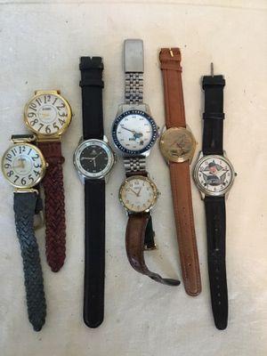 Six Wrist Watches Joe Landry Fossil & Joe Boxer Get The Order for Sale in Berlin, MD