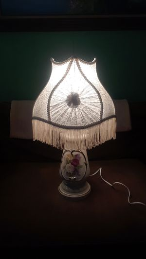 a very beautiful lamp with shade for Sale in Spanaway, WA