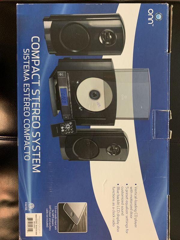 CD Player with AM/FM Radio