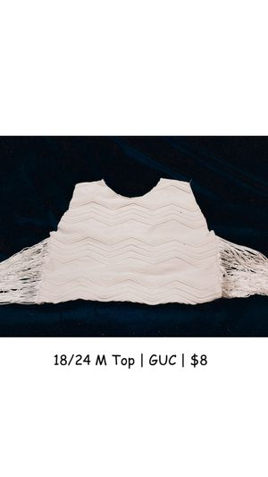 18/24 m fringe crop top for Sale in Fort Worth, TX