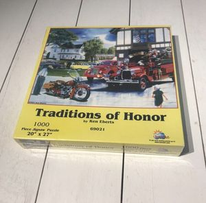 Traditions of Honor 1000 piece jigsaw puzzle for Sale in Medora, KS