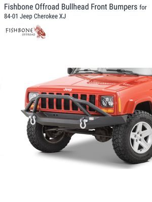 Fishbone offroad bullhead bumper Jeep xj for Sale in Lakeside, CA