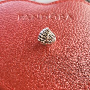 Authentic Pandora Seashell 14k Charm for Sale in Gilbert, AZ