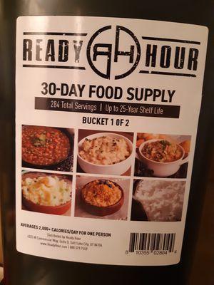 Ready Hour survival food for Sale in Stuart, FL