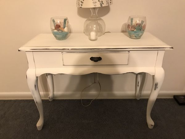 Antique hall or sofa table
