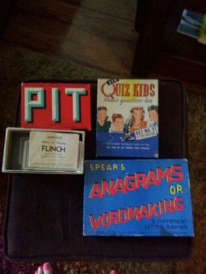 VINTAGE games starting from 1919 for Sale in Los Angeles, CA