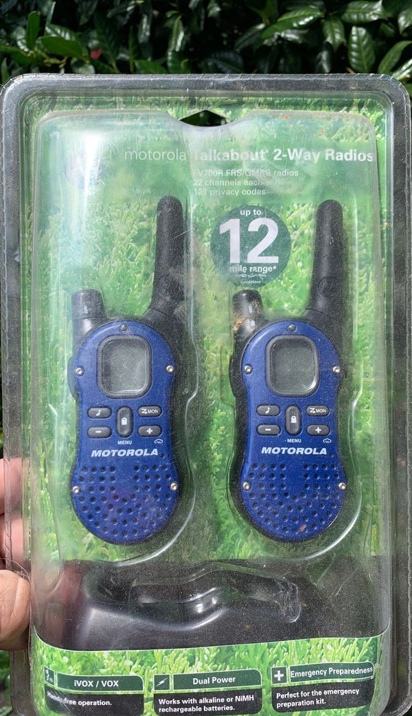 Motorola Commercial 2 Way Radios