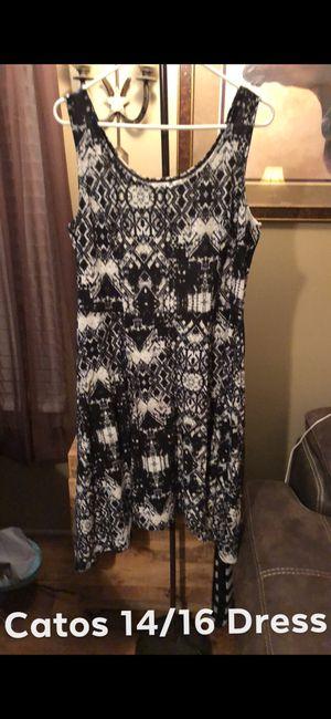 Catos 14-16 Black & White Summer Dress for Sale in Lascassas, TN