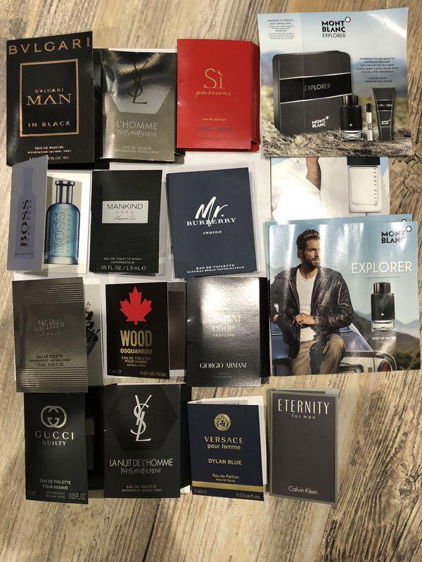 Brand name means perfume samples set