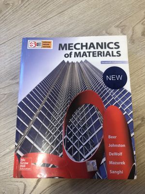 Mechanics Of Materials (7E) (International Edition) for Sale in Chico, CA