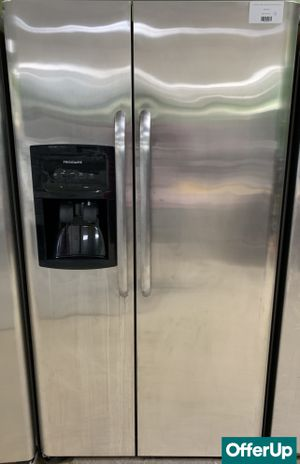🚀🚀🚀Side by Side Refrigerator Fridge Frigidaire Stainless Steel #765🚀🚀🚀 for Sale in Orlando, FL