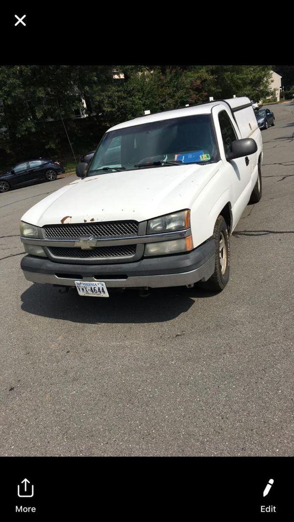 Se vende Chevy Silverado 2004 tiene 192 millas para trabajo