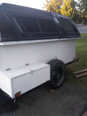 I am got a 4 by 8 homemade camper trailer for Sale in Johnson City, TN