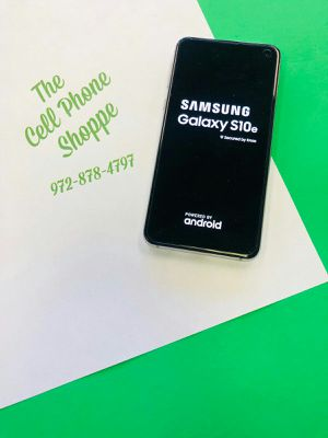 Samsung Galaxy S10e 128gb Unlocked att tmobile metro cricket for Sale in Carrollton, TX