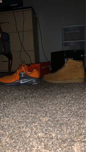BUY BOTH FOR 160. Jordan 1 Wheat and Tennessee Running shoe for Sale in Algonquin, IL