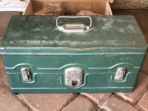 Vintage fishing tackle box for Sale in Mesa, AZ