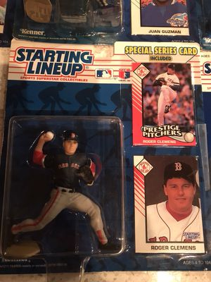 Starting lineup mid 90's vintage Baseball/hockey figure lot for Sale in Austin, TX