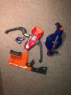 NERF GUN LOT EXTREME DEAL ( TWO MOTORIZED) for Sale in Silver Spring, MD