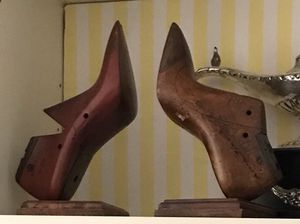 Antique Wood Shoe Form Bookends for Sale in Miami, FL