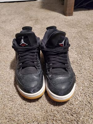 Jordan 4 Retro Lazer Black Gum for Sale in Wichita, KS