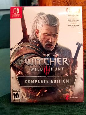 Witcher 3 Switch Complete Ed. FACTORY SEALED for Sale in Oak Glen, CA