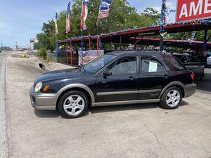 2002 Subaru Impreza Outback Sport for Sale in San Antonio, TX