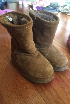 Size 6 toddler boots for Sale in Winder, GA