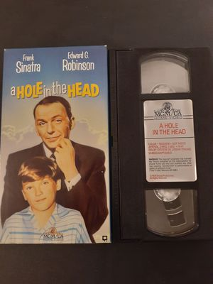 A HOLE In The HEAD (VHS) Frank Sinatra! for Sale in Lewisville, TX