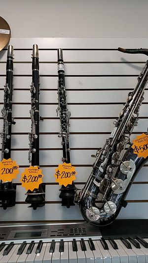 Clarinets and Saxophone for Sale in Las Vegas, NV
