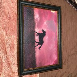 Horse Framed Photo for Sale in Bruceville,  TX